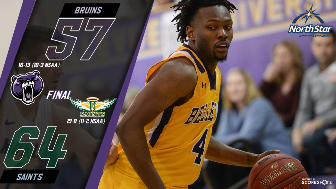 BU unable to hold lead as Saints move atop NSAA standings