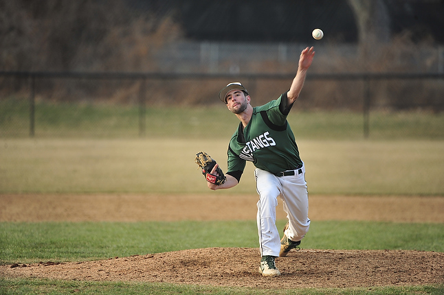 Stevenson Jumps on No. 15 Captains Early, Posts 8-5 Win