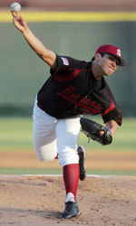 Nate Garcia Named WCC Pitcher of the Week