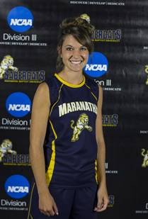 Vander Pluym recognized as Association of Division III Independents women's cross country Runner of the Week