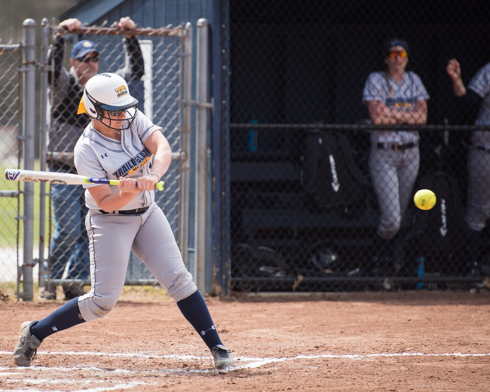Watson, Coleman highlight MCLA's game one win over SVC in Softball