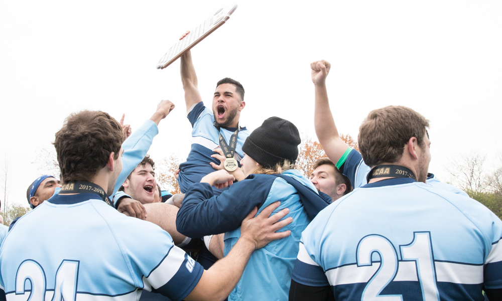 Men's rugby claim OCAA Championship in thriller