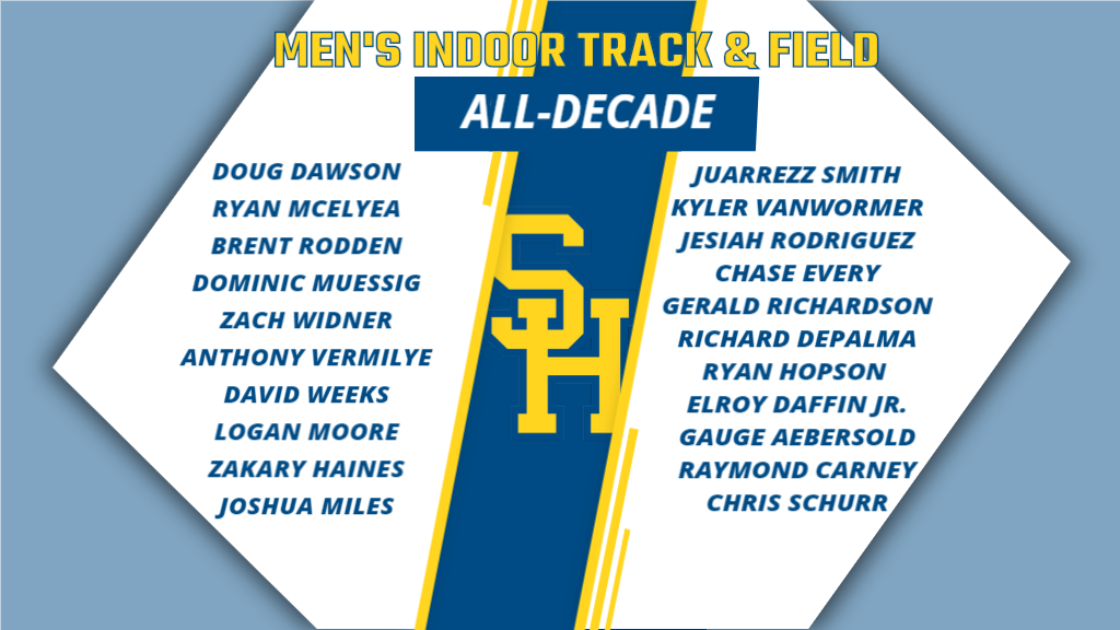 Siena Heights All-Decade Series: Men's Indoor Track and Field