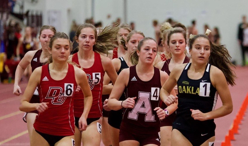 Track and Field Takes Fifth at Aquinas College Little Meet