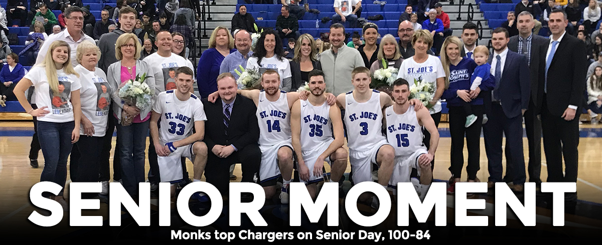 Saint Joseph's Wins on Senior Day, 100-84