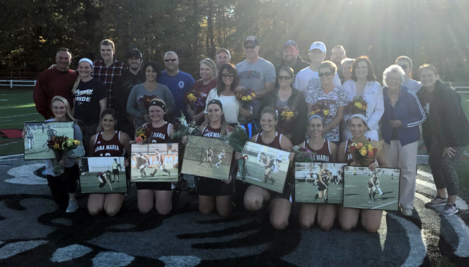 Field Hockey Falls 1-0 to Falcons on Senior Day