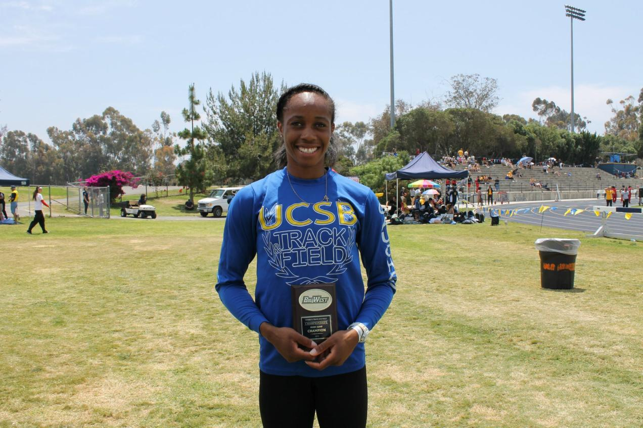 Big West Honors Barbara Nwaba As Field Athlete of the Year
