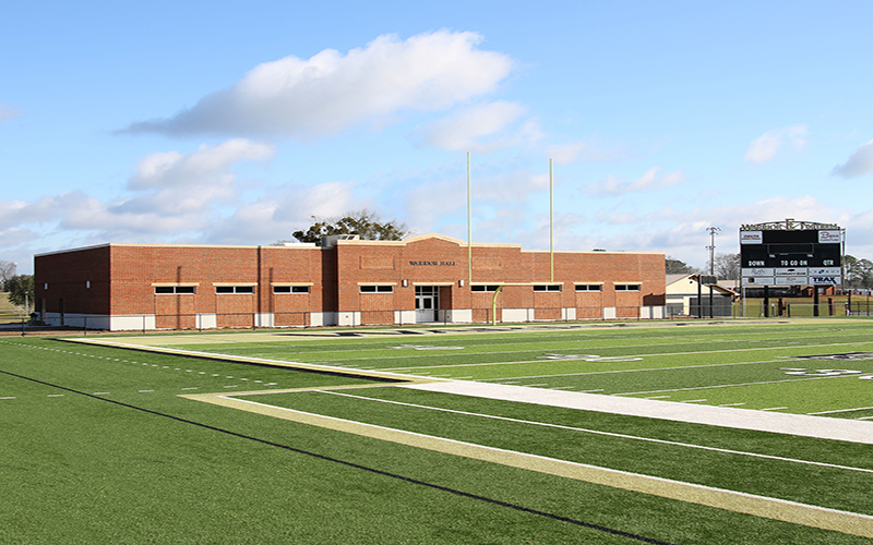 ECCC to Open New Football Building March 5