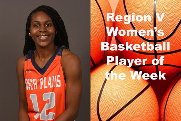 Region V Women's Basketball Players of the Week (Feb. 5)