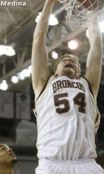 Broncos Fall To UNLV 78-66