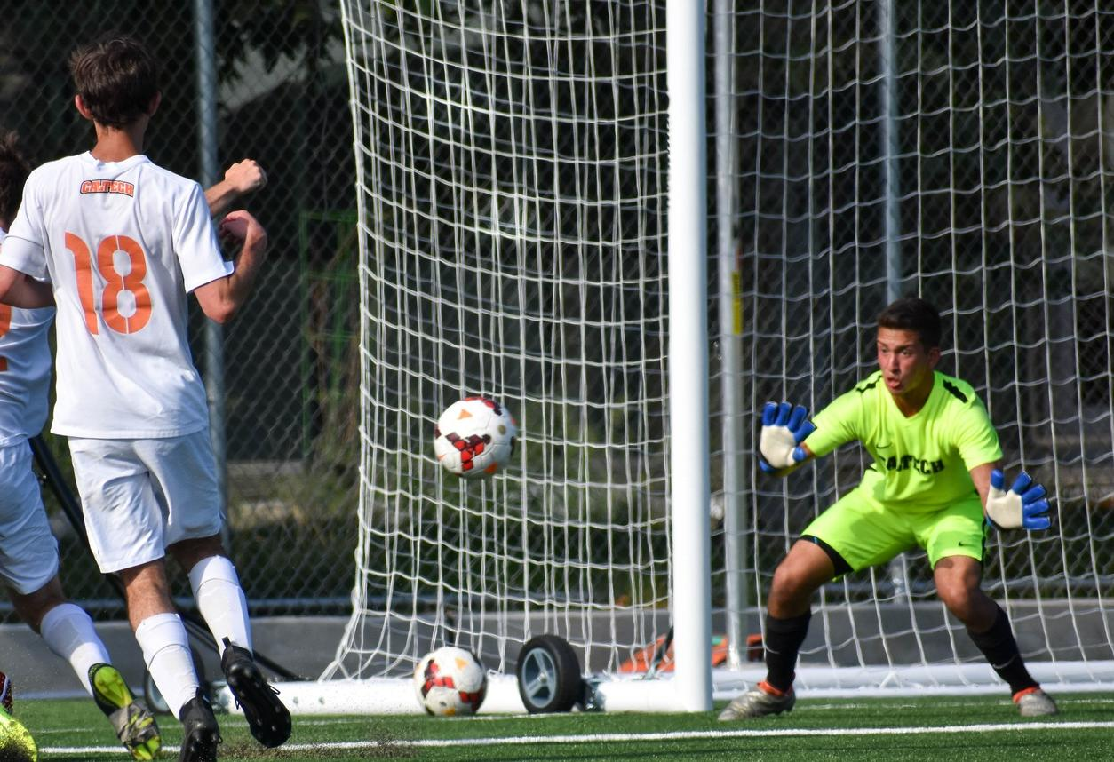 Caltech Goalkeeping Exceptional Again