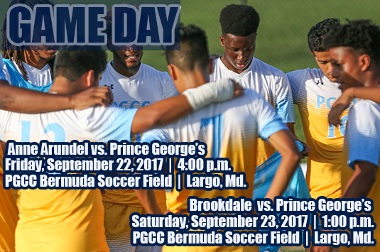Prince George's Men's Soccer Has A Busy Weekend On The Pitch