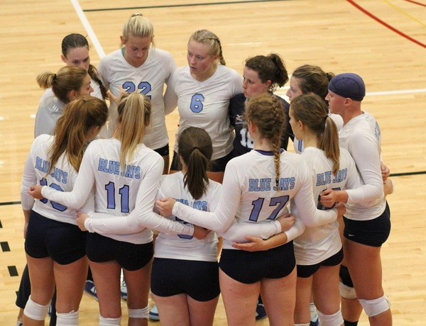 Westminster Volleyball Hands Greenville First Loss of Season