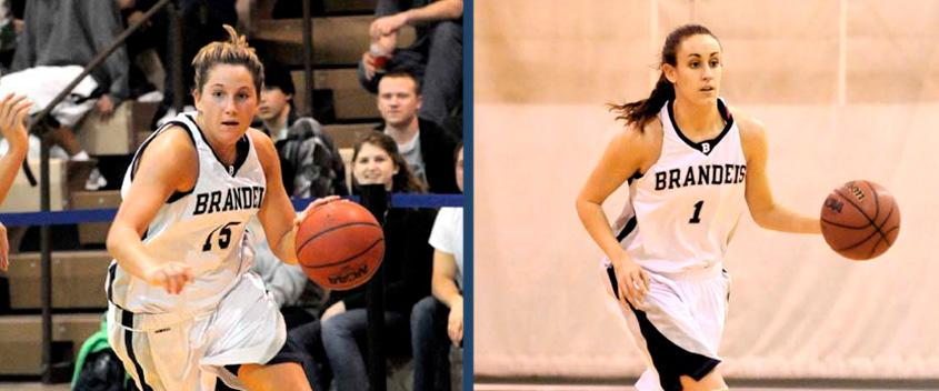 Diana Cincotta '11 and Kelly Ethier '12 earned All-Tournament honors at the 2011 Judges Classic(photos by SportsPix)
