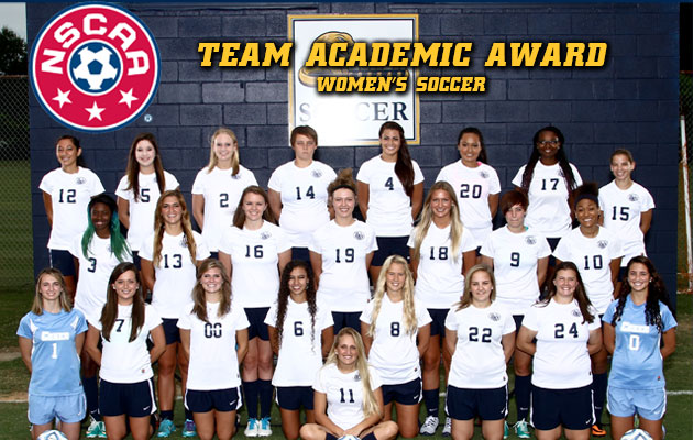 Women's Soccer Earns Third Consecutive Academic Award