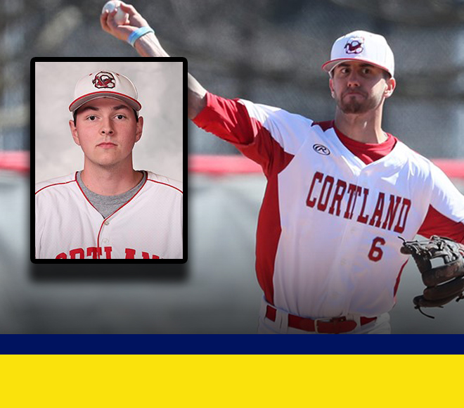 Cortland Sweeps Final Weekly Baseball Awards