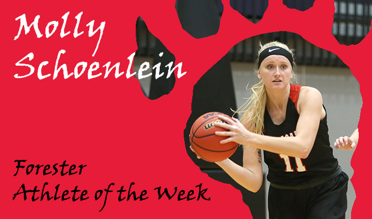 Molly Schoenlein Named Forester Athlete of the Week