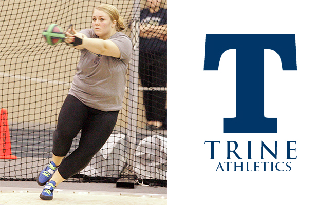 Eck Earns Second Field Athlete of the Week Honor