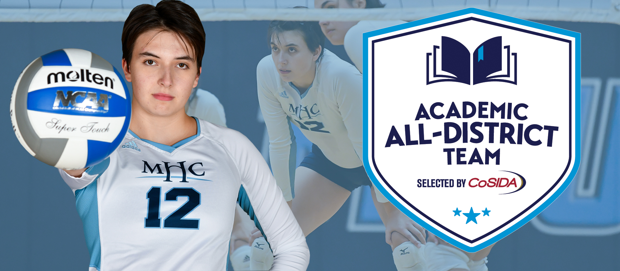 Simine Garners CoSIDA Academic All-District Honors Following Historic Season