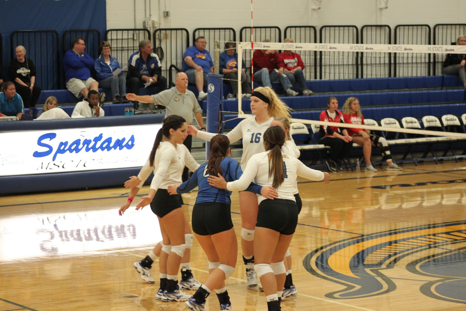 Spartans Fall in 5 Sets to 4th Rank Cyclones