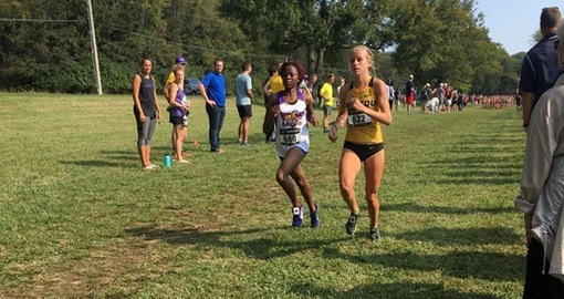 Tech women run to improved team finish at Commodore Classic