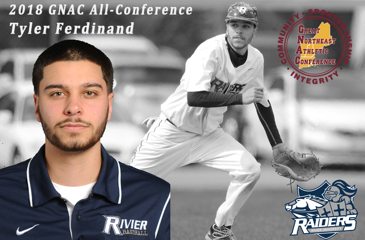 Baseball: Ferdinand named 2nd Team All-Conference Infielder
