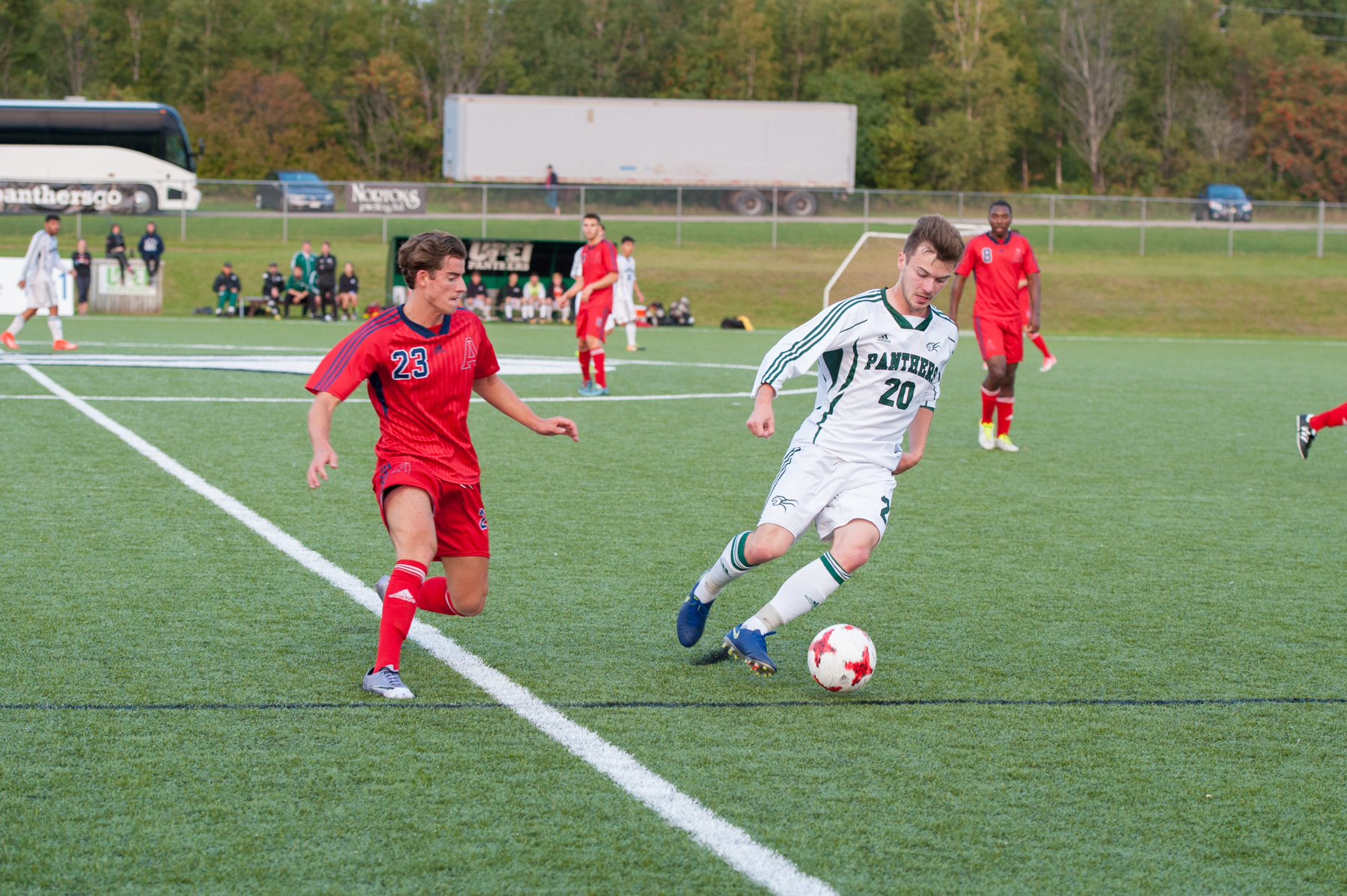 Coats puts on a show in 3-0 win over UPEI