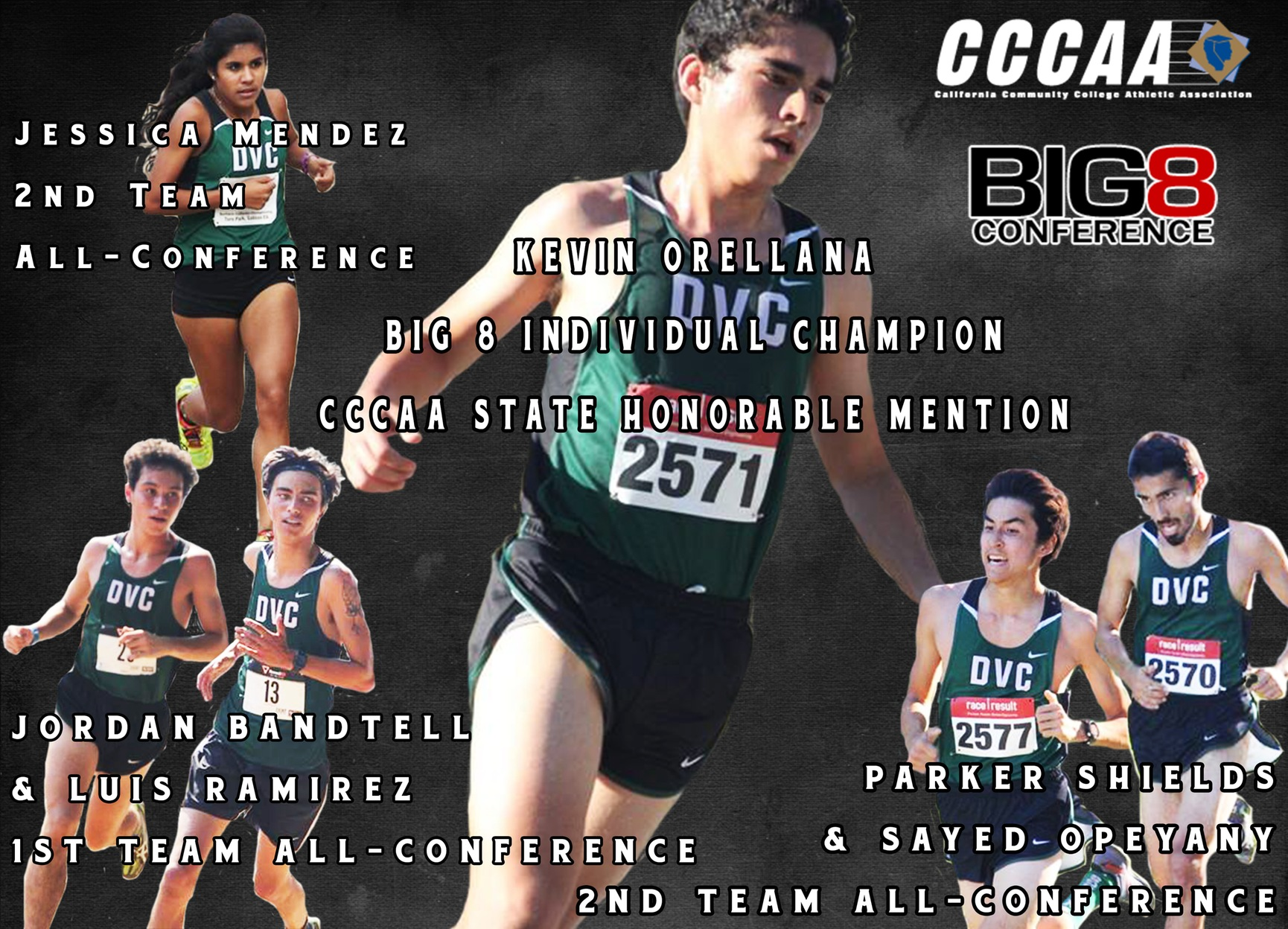Six XC Runners notch All-Conference Honors
