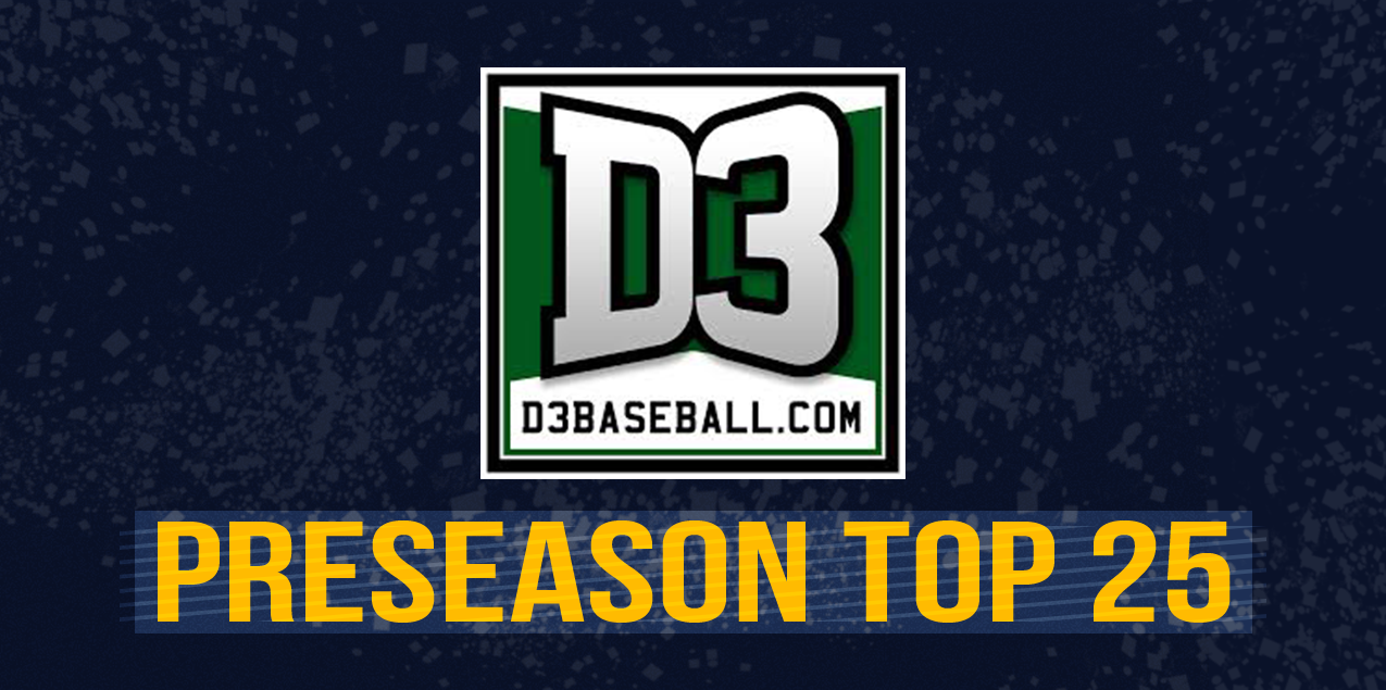 Two SCAC Teams Ranked Top-Five in D3baseball.com National Preseason Poll
