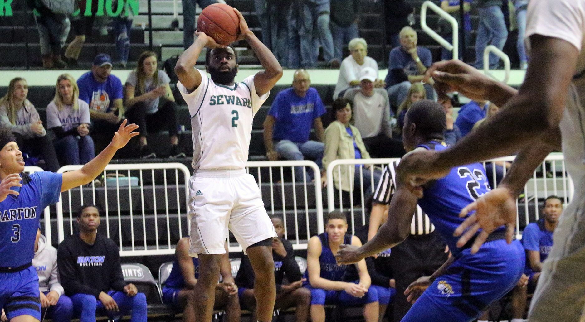 Saints Bounce Back With Rout of Cougars