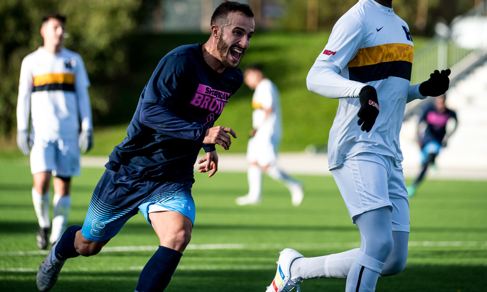 Draw with Humber prevents men's soccer from claiming Central Division crown