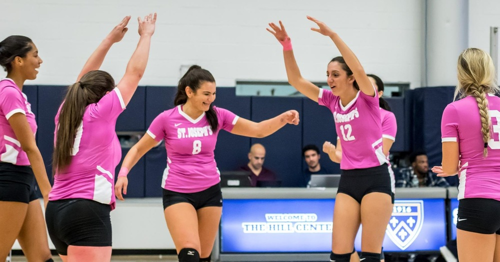 Women's Volleyball Swept by Conference Unbeaten Mount Saint Vincent