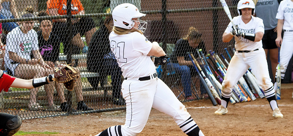 Hester collects 100th career hit, but Pioneers swept at Lander