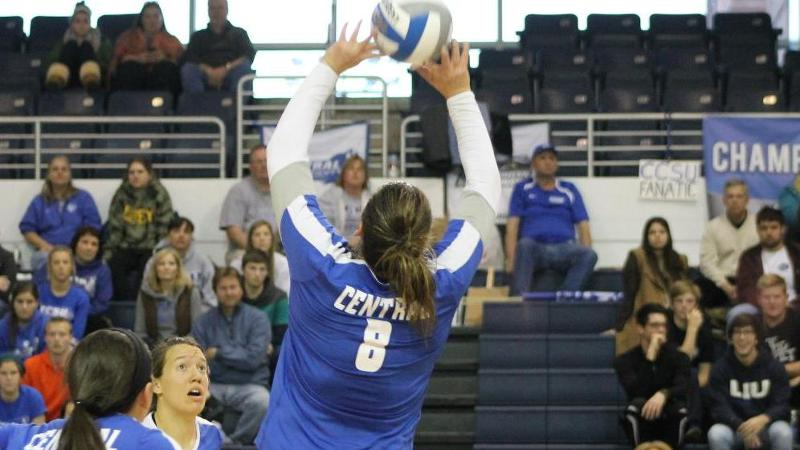 Volleyball Falls to LIU in NEC Championship Match