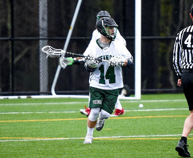 Men S Lacrosse Beats 10 Harford For 1st Win Ocean County College