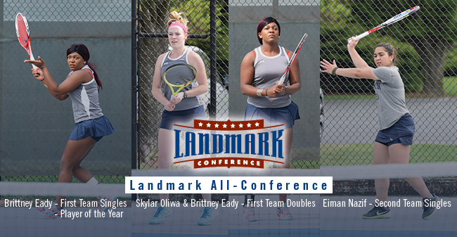 Eady, Oliwa & Nazif Earn All-Conference Honors; Eady Selected as Landmark Athlete of the Year