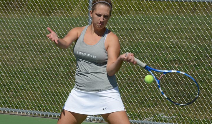 Ferris State Women's Tennis Suffers Setback In Opening Match Of Spring Trip