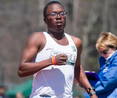 Sage Men's Track and Field Team competes at Mt. Holyoke Invitational