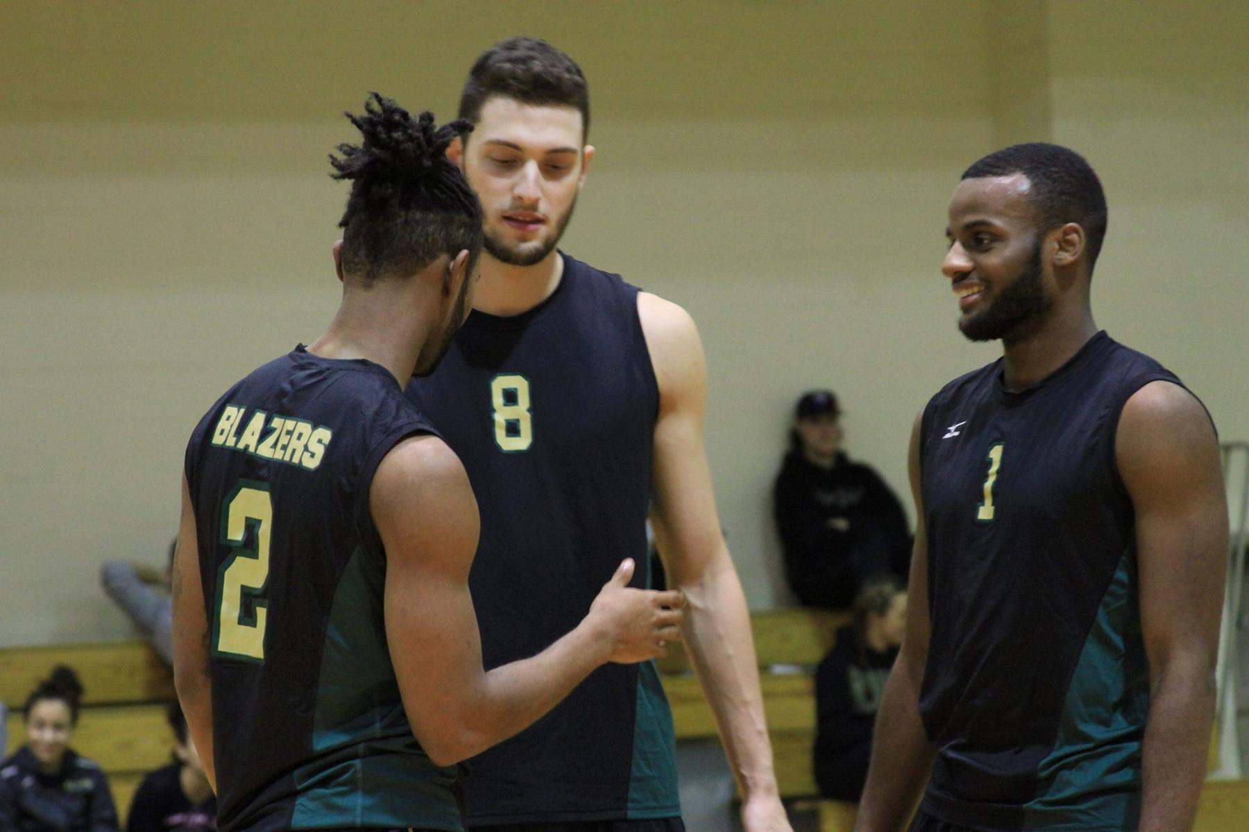 Men's Volleyball Splits Season-Opening Twinbill