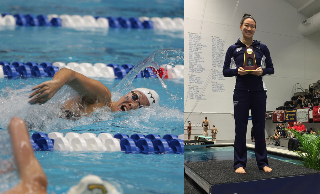 Cindy Cheng Wins 200 Freestyle as Eagles Extend NCAA Lead