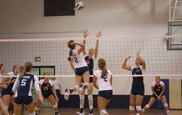 Cobra Volleyball Blanks Mount Olive 3-0