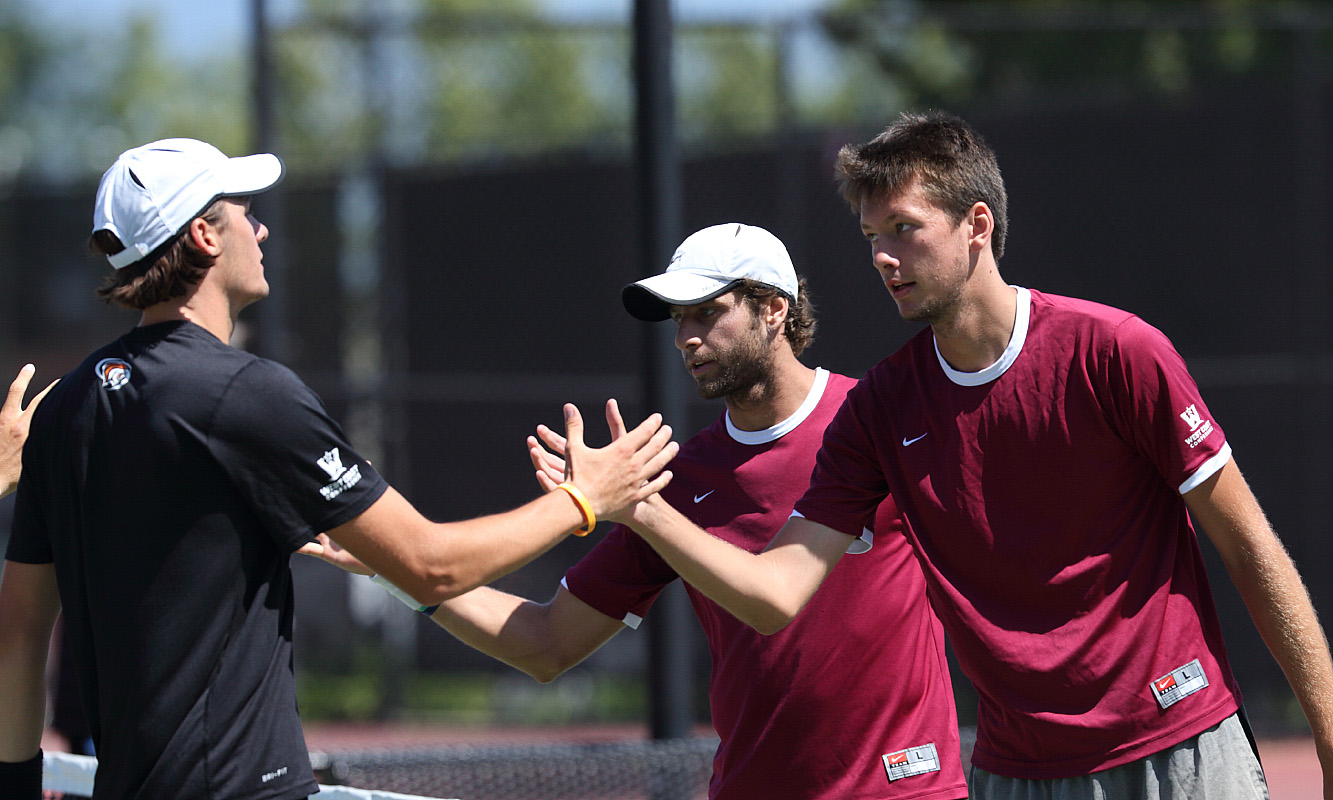 Men's Tennis Ranked No. 56 Nationally and No. 4 in Northwest Region; Lamble and Osintsev Ranked in Northwest Region