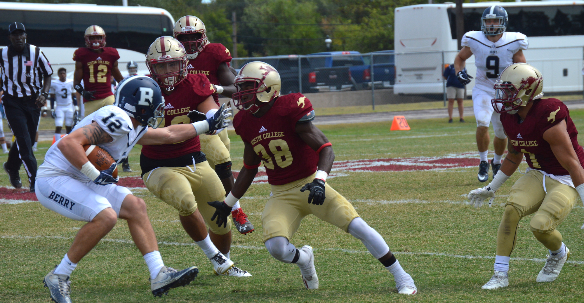 Turnovers Doom 'Roo Football in Loss to Berry