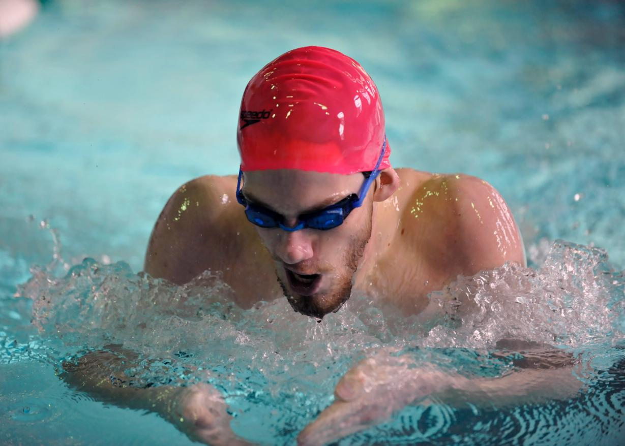 Men's Swimming Finishes Third At Vassar College Invitational