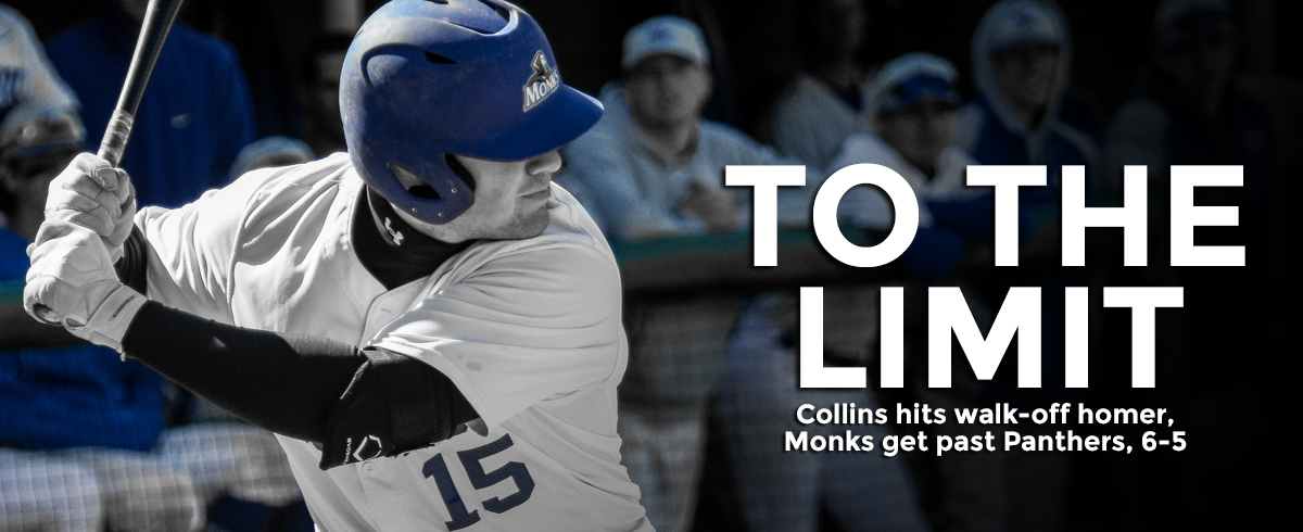 Collins Walk-Off Lifts Monks Past Panthers, 6-5