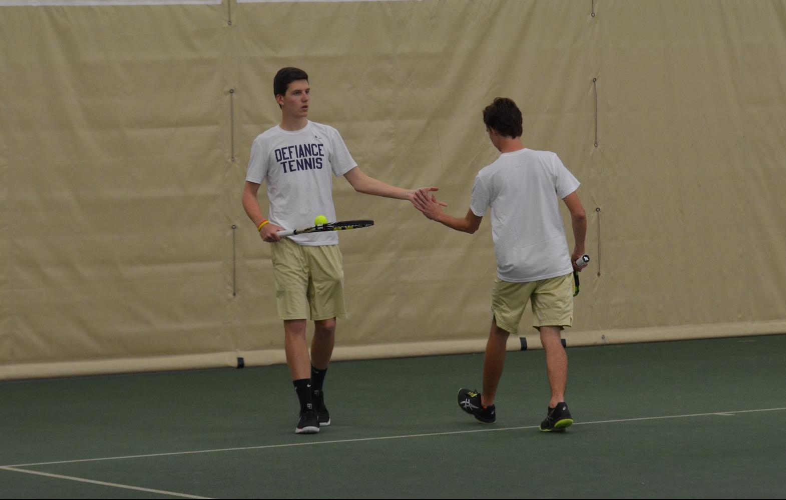 Men's Tennis Continues Winning Form
