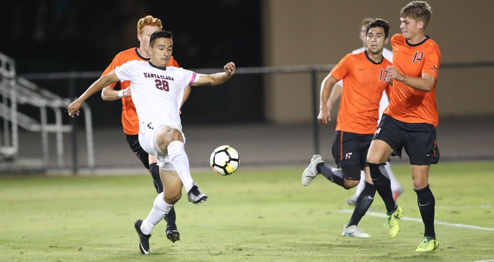 Men's Soccer Goes Down 1-0 At Portland