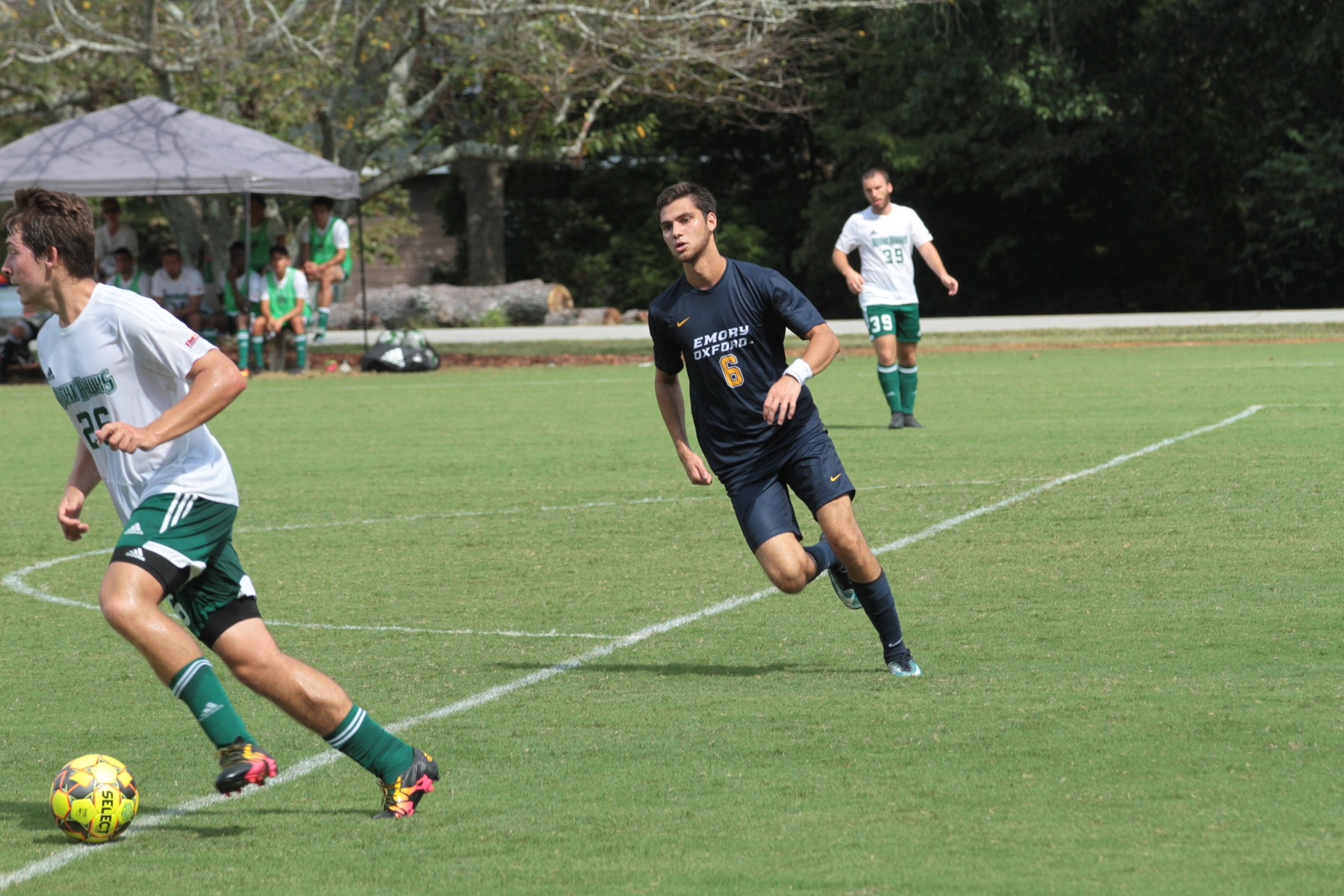 Oxford Men's Soccer battles back to get the draw