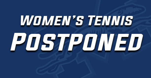 Women's tennis match postponed