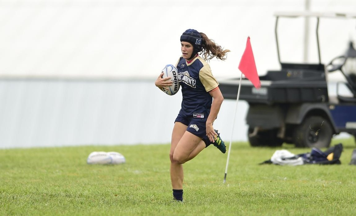 The Mount Women's Rugby Team Takes Second Place At The Navy 7's Tournament On Saturday